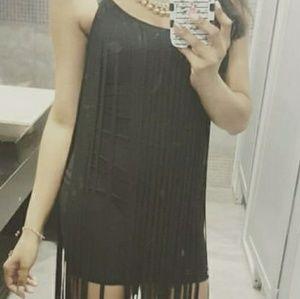 Dresses - Black mini dress